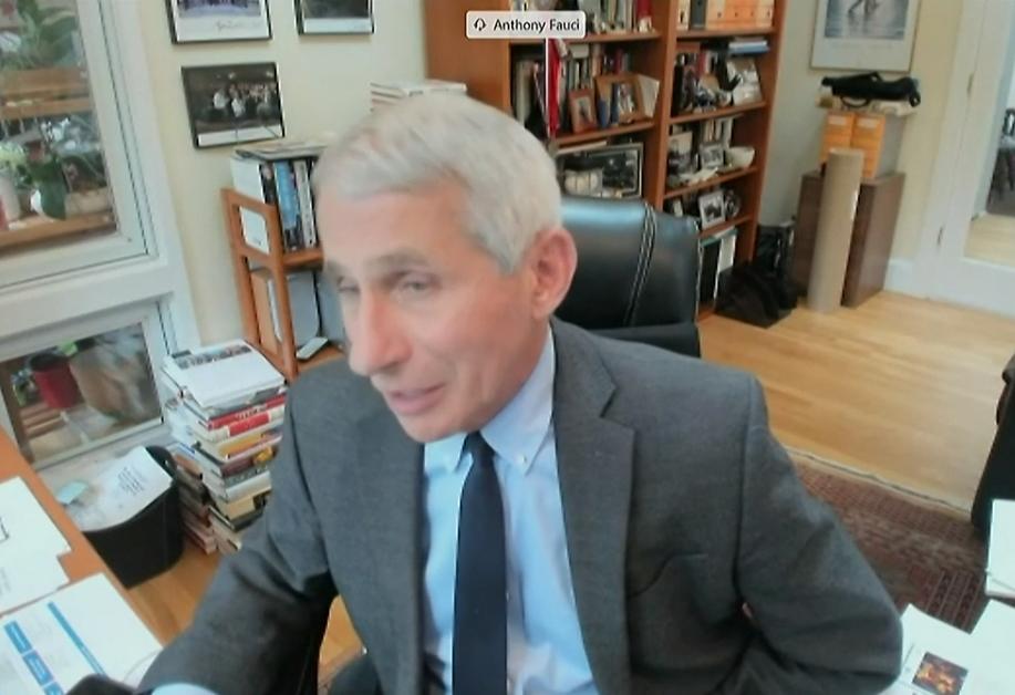 Anthony Fauci manifiesta: una reapertura demasiado r�pida podr�a conducir a un sufrimiento y muerte evitables
