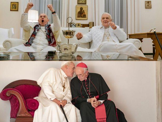 Los Dos Papas un cónclave entre el viejo y nuevo orden monolitico