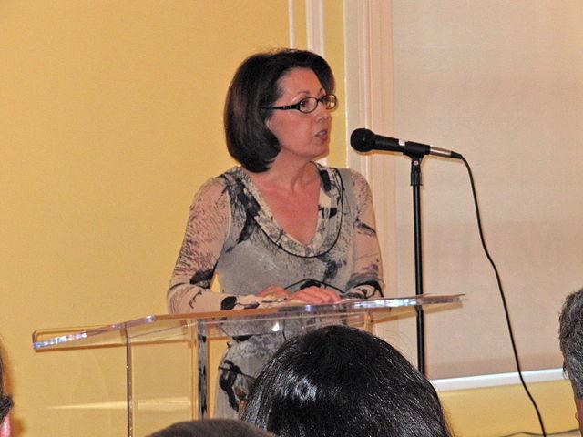 Marie Arana una peruana en la Biblioteca del Congreso de EE UU