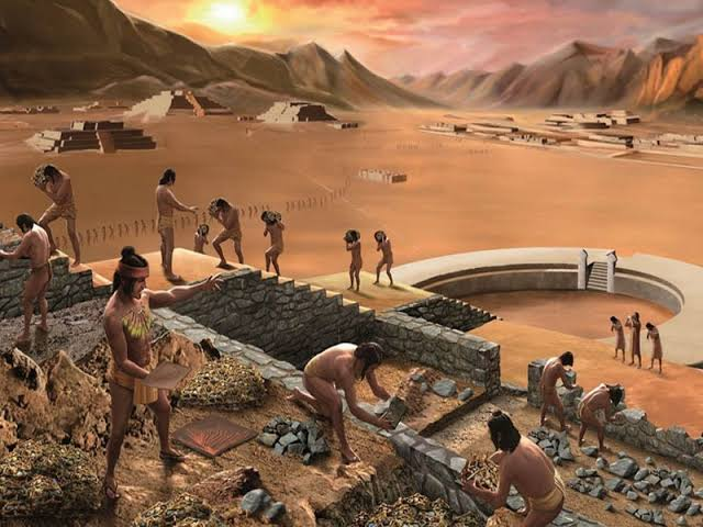 Caral la Civilización mas antigua de las Americas