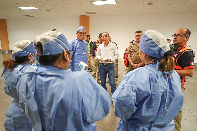 Peru 17,837 casos confirmados de pacientes con coronavirus