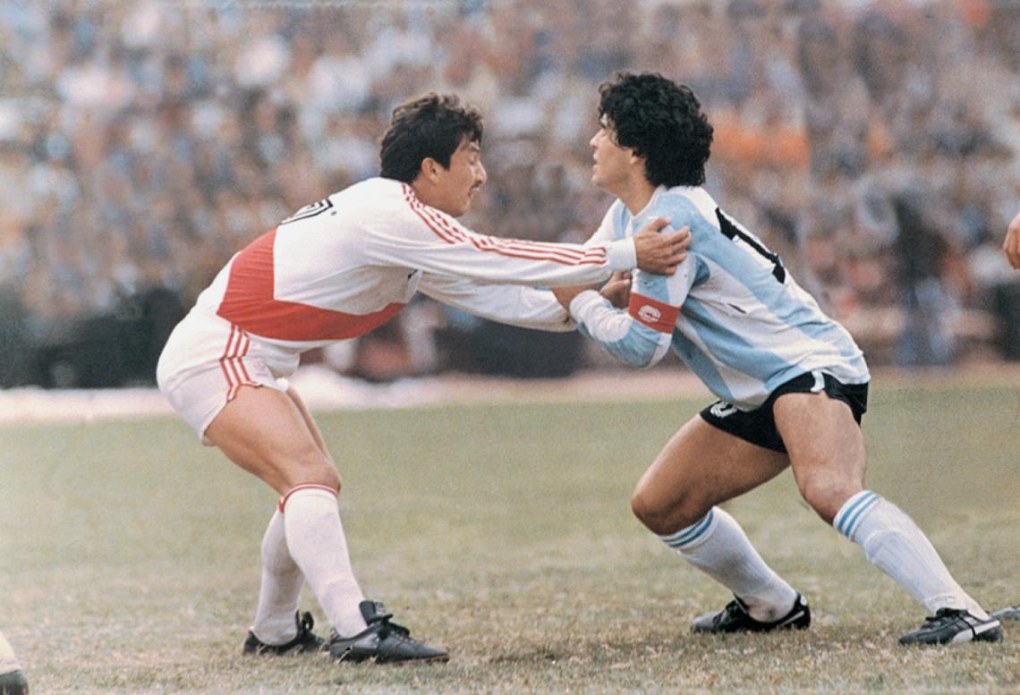 Diego Armando Maradona, el Per� Argentina de 1985 en sus memorias