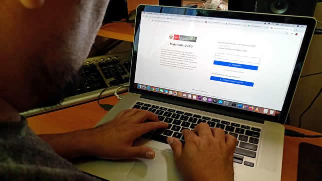 Minedu habilita plataforma para traslado de estudiantes de escuelas privadas a públicas