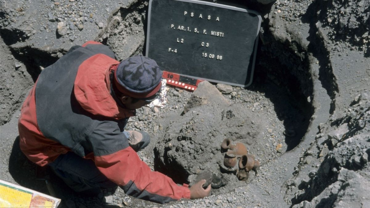Sacrificio de niños y niñas incas para apaciguar el Misti