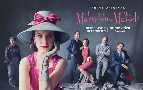 The Marvelous Mrs. Maisel sigue sorprendiendo esta 3ra Temporada
