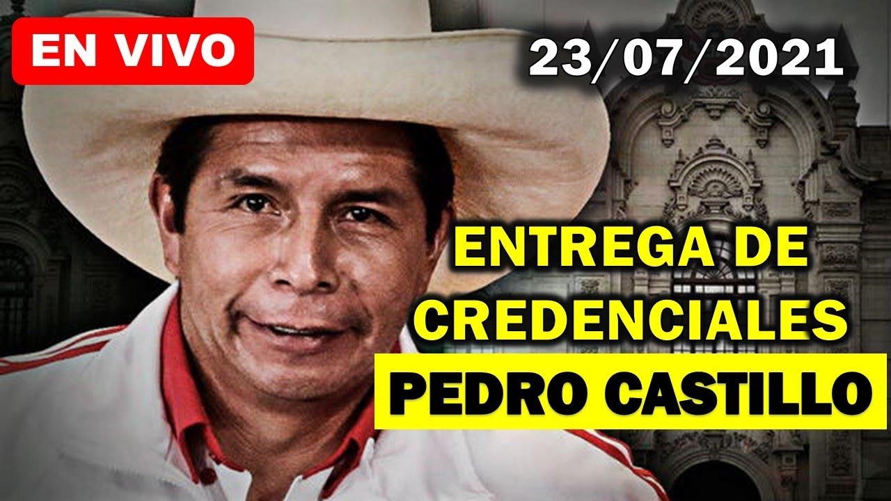 Discurso de Pedro Castillo al recibir credenciales como presidente electo del Perú