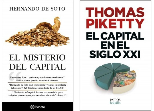 De Soto vs Piketty capitalismo vs Socialismo siglo 21