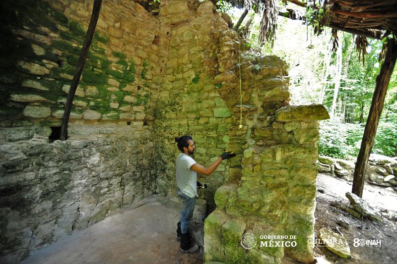 Un palacio Maya descubierto en Yucatan muestra el exprendor de esta civilización