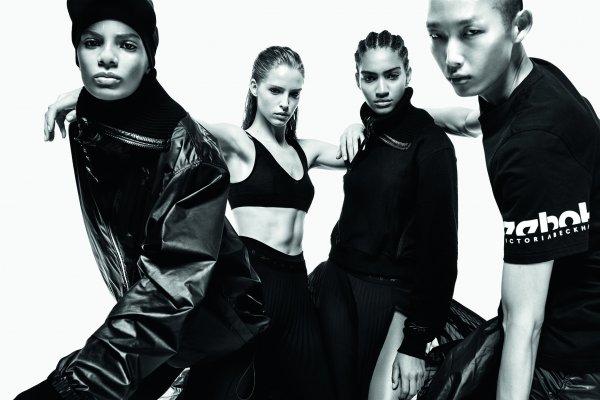 Victoria Beckham y Reebok apuestan por el estilo Athleisure en su nueva colección