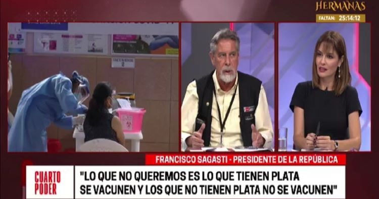 El presidente Sagasti necesita un jefe de prensa