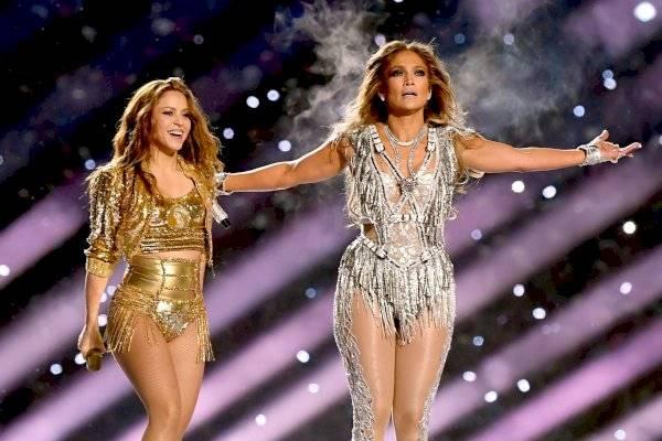 Jennifer Lopez y Shakira la rompieron en el Super Bowl y gratis
